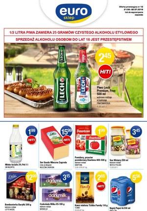 Gazetka promocyjna Euro Sklep, ważna od 21.06.2019 do 02.07.2019.