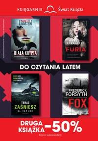 Gazetka promocyjna Księgarnie Świat Książki, ważna od 19.06.2019 do 16.07.2019.
