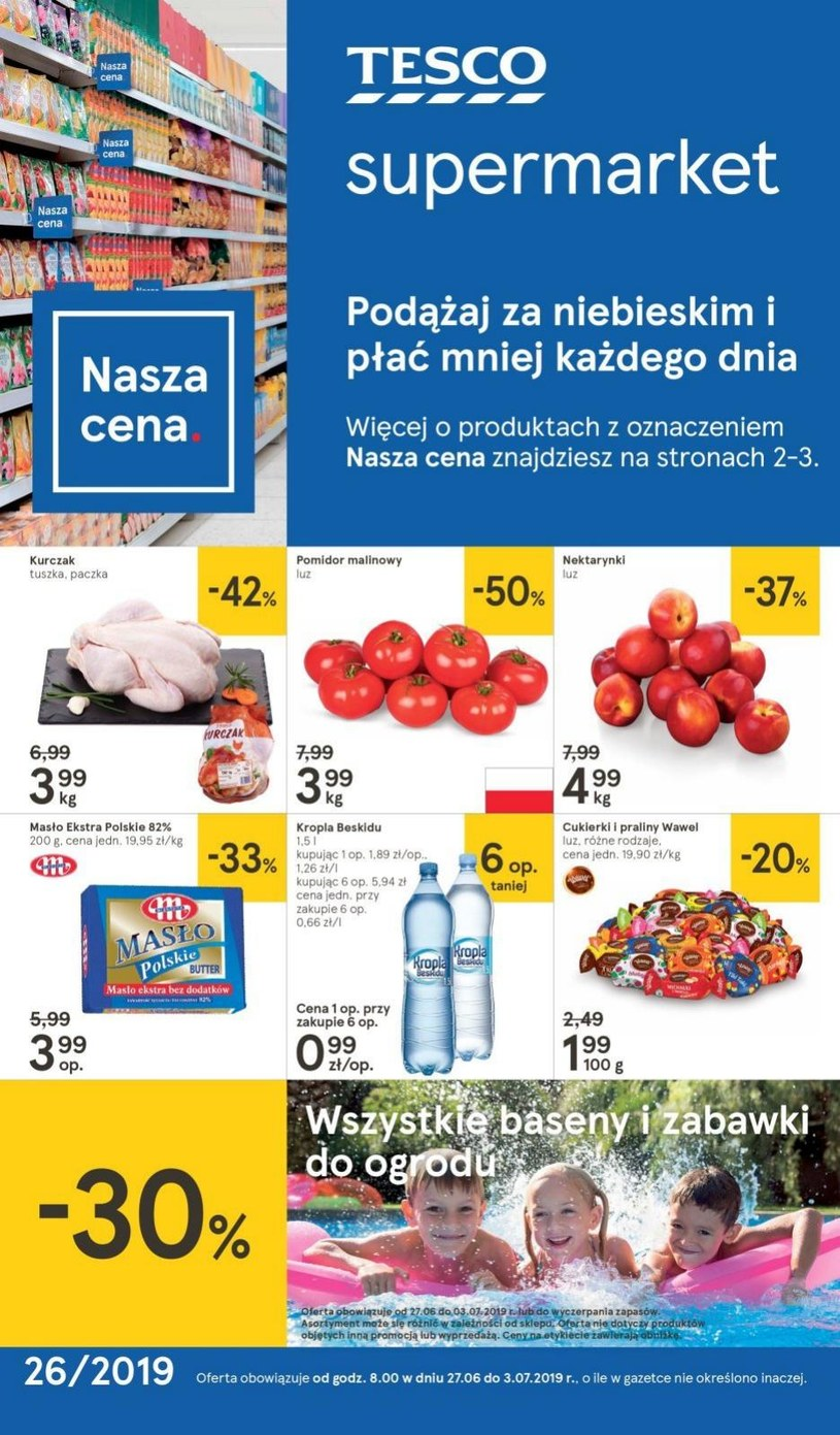 gazetki Tesco Supermarket