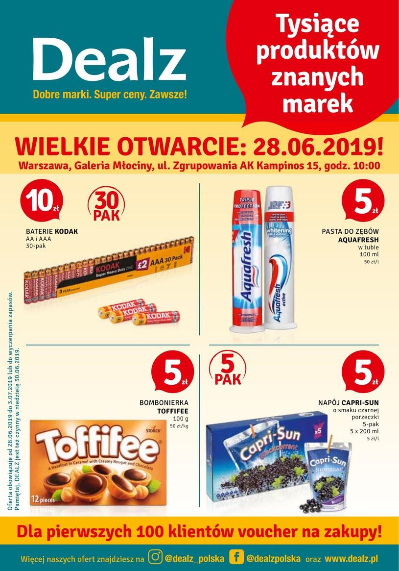 Gazetka promocyjna Dealz - ważna od 28. 06. 2019 do 03. 07. 2019