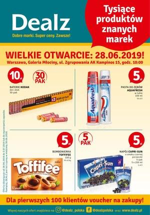 Gazetka promocyjna Dealz, ważna od 28.06.2019 do 03.07.2019.