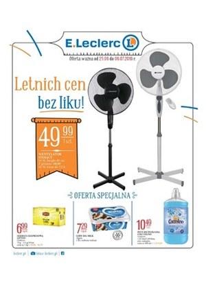 Gazetka promocyjna E.Leclerc, ważna od 25.06.2019 do 06.07.2019.