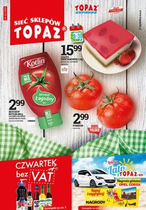 Gazetka promocyjna Topaz, ważna od 27.06.2019 do 03.07.2019.