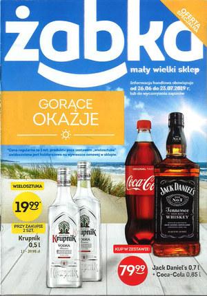 Gazetka promocyjna Żabka, ważna od 26.06.2019 do 23.07.2019.