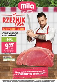Gazetka promocyjna MILA, ważna od 27.06.2019 do 03.07.2019.