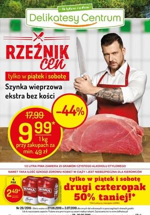 Gazetka promocyjna Delikatesy Centrum, ważna od 27.06.2019 do 03.07.2019.