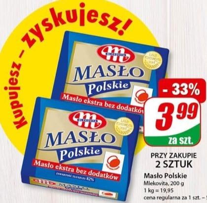 Masło polskie  niska cena