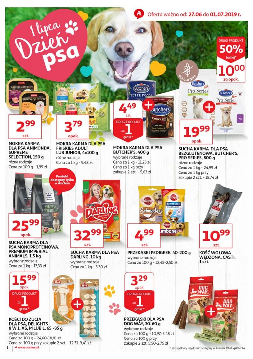 Gazetka promocyjna Auchan - ważna od 27. 06. 2019 do 01. 07. 2019