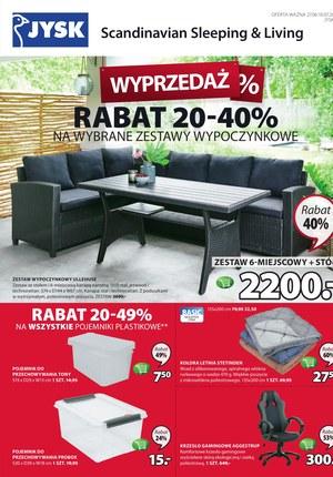 Gazetka promocyjna Jysk, ważna od 27.06.2019 do 10.07.2019.