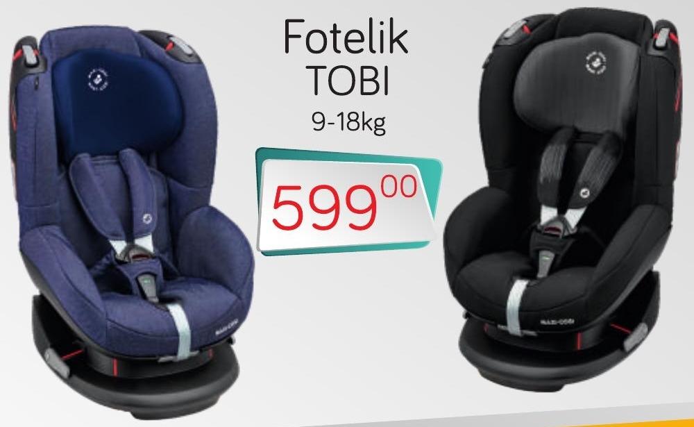 Fotelik TOBI niska cena