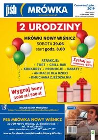 Gazetka promocyjna PSB Mrówka, ważna od 29.06.2019 do 17.07.2019.