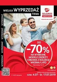 Gazetka promocyjna Selgros Cash&Carry, ważna od 04.07.2019 do 17.07.2019.