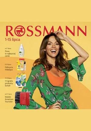 Gazetka promocyjna Rossmann, ważna od 01.07.2019 do 15.07.2019.