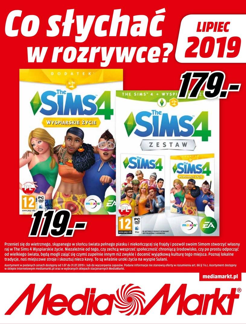 Gazetka promocyjna Media Markt - ważna od 01. 07. 2019 do 31. 07. 2019