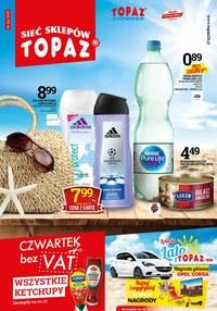 Gazetka promocyjna Topaz - Gazetka promocyjna  - ważna do 10-07-2019