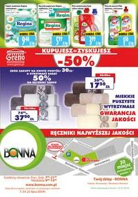 Gazetka promocyjna Bonna, ważna od 01.07.2019 do 31.07.2019.