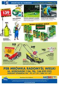 Gazetka promocyjna PSB Mrówka, ważna od 05.07.2019 do 20.07.2019.