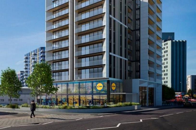 Lidl iAldibudują mieszkania. Nowe budynki mają powstać już w następnym roku