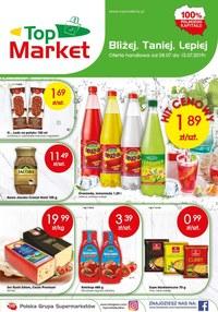 Gazetka promocyjna Top Market - Gazetka promocyjna - ważna do 13-07-2019