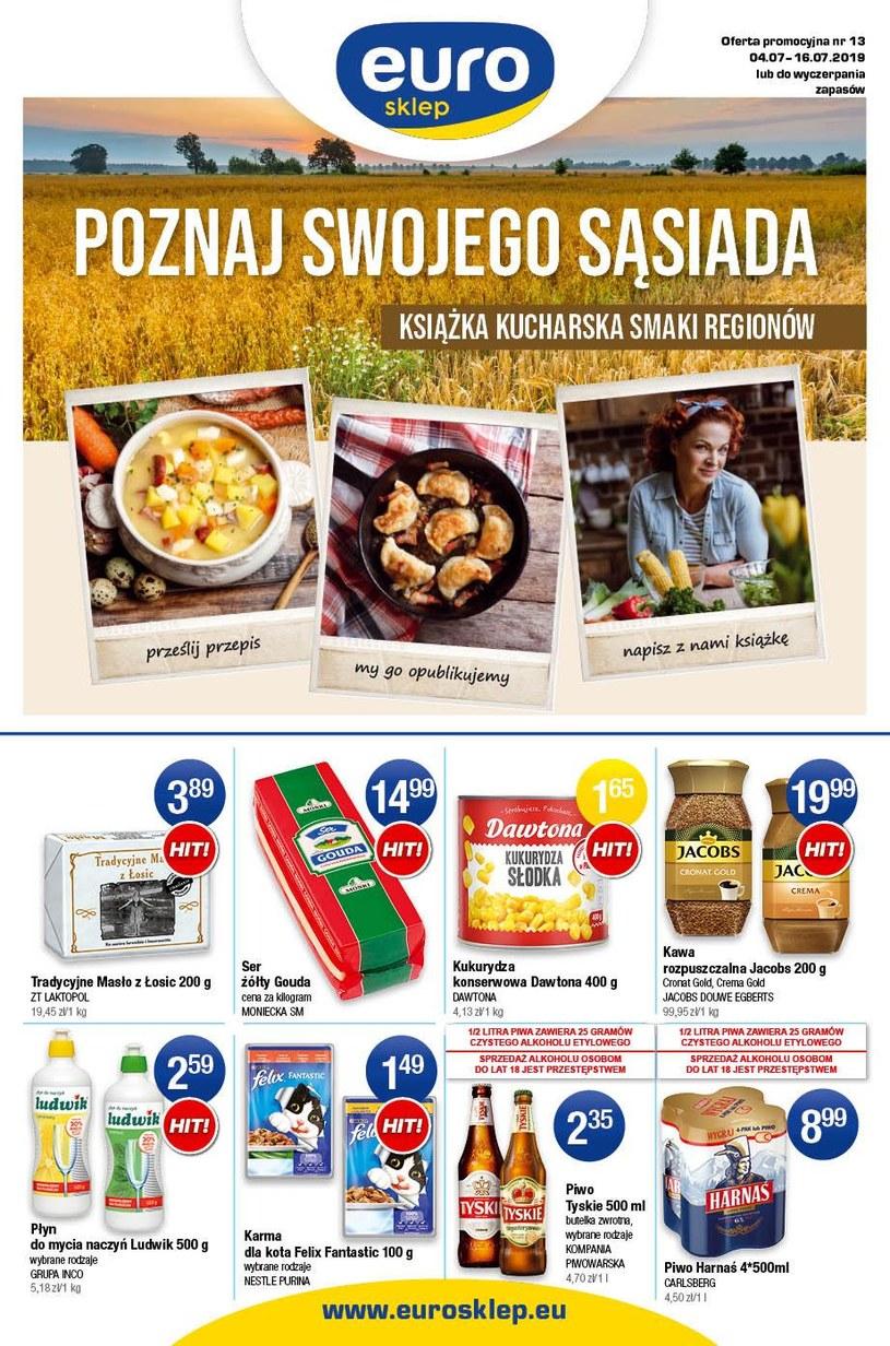 Gazetka promocyjna Euro Sklep - ważna od 04. 07. 2019 do 16. 07. 2019