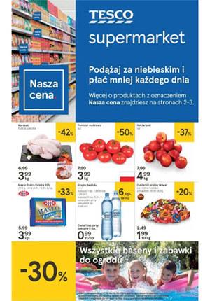 Gazetka promocyjna Tesco Supermarket, ważna od 27.06.2019 do 03.07.2019.
