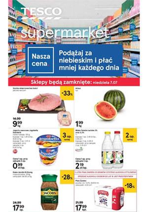 Gazetka promocyjna Tesco Supermarket, ważna od 04.07.2019 do 10.07.2019.