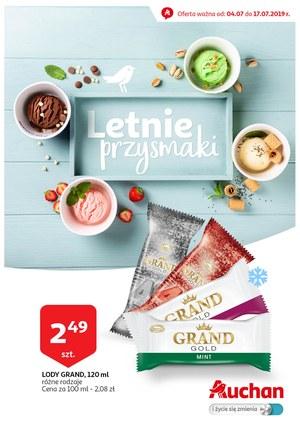 Gazetka promocyjna Auchan, ważna od 04.07.2019 do 17.07.2019.