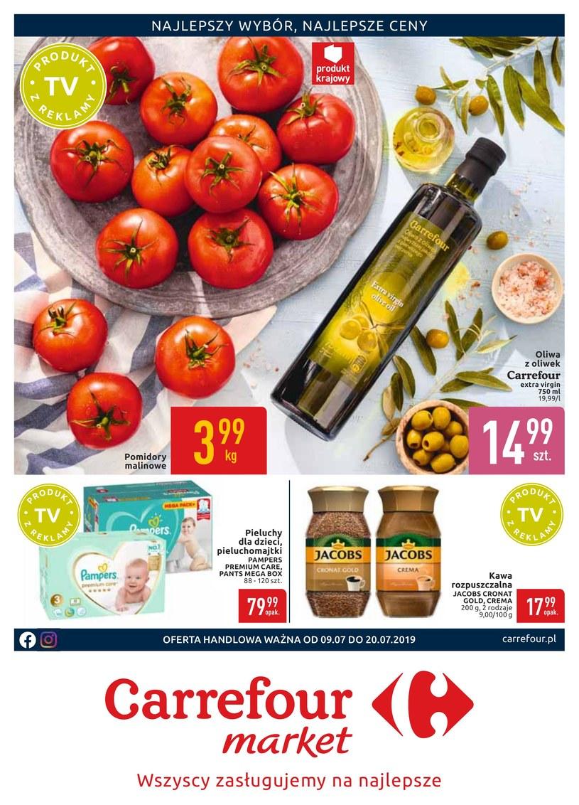 Gazetka promocyjna Carrefour Market - ważna od 09. 07. 2019 do 20. 07. 2019