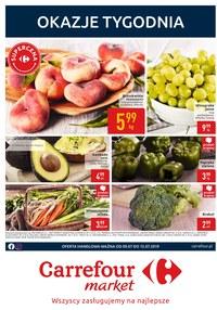 Gazetka promocyjna Carrefour Market, ważna od 09.07.2019 do 15.07.2019.