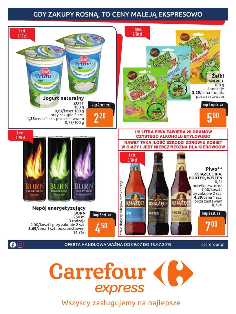 Gazetka promocyjna Carrefour Express - wygasła 1 dni temu