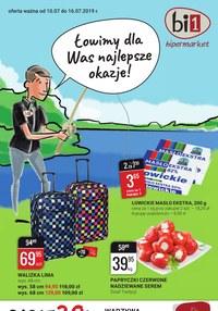 Gazetka promocyjna bi1, ważna od 10.07.2019 do 16.07.2019.
