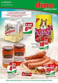 Gazetka promocyjna Dino, ważna od 10.07.2019 do 16.07.2019.