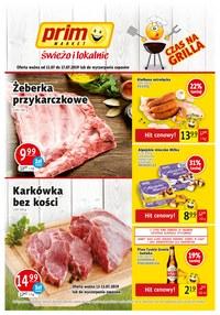 Gazetka promocyjna Prim Market, ważna od 11.07.2019 do 17.07.2019.