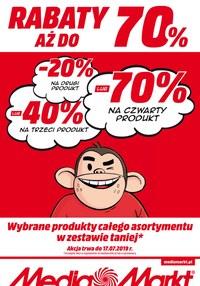 Gazetka promocyjna Media Markt, ważna od 11.07.2019 do 17.07.2019.