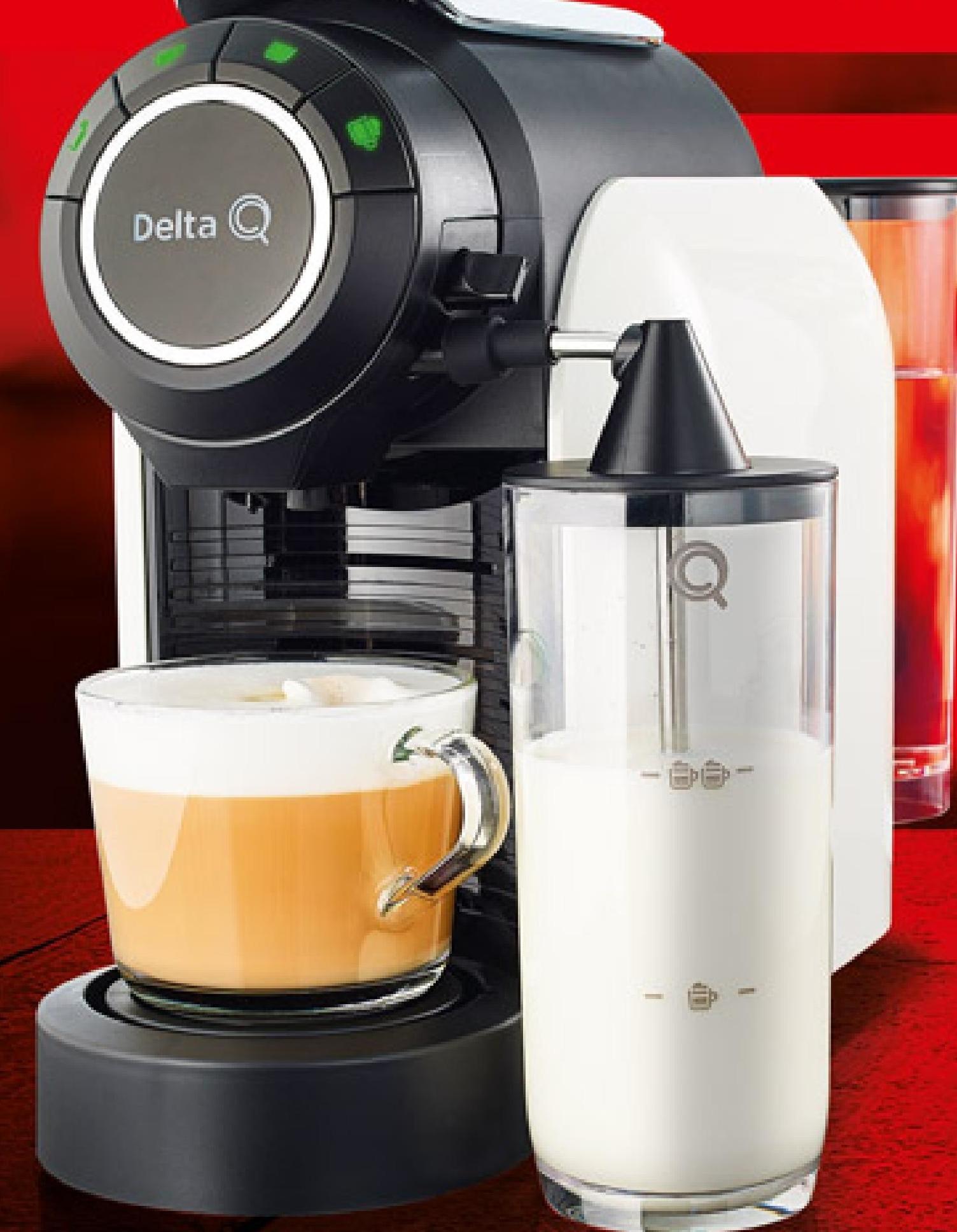 Ekspres do kawy Delta Q  niska cena