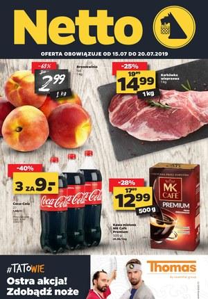 Gazetka promocyjna Netto, ważna od 15.07.2019 do 20.07.2019.