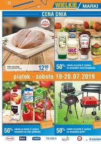 Gazetka promocyjna E.Leclerc, ważna od 09.07.2019 do 20.07.2019.