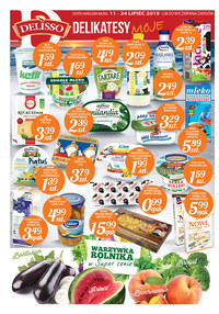 Gazetka promocyjna Delisso, ważna od 11.07.2019 do 24.07.2019.