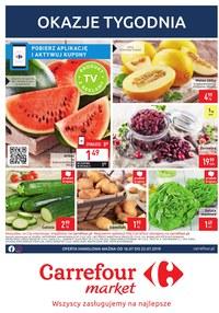 Gazetka promocyjna Carrefour Market, ważna od 16.07.2019 do 22.07.2019.