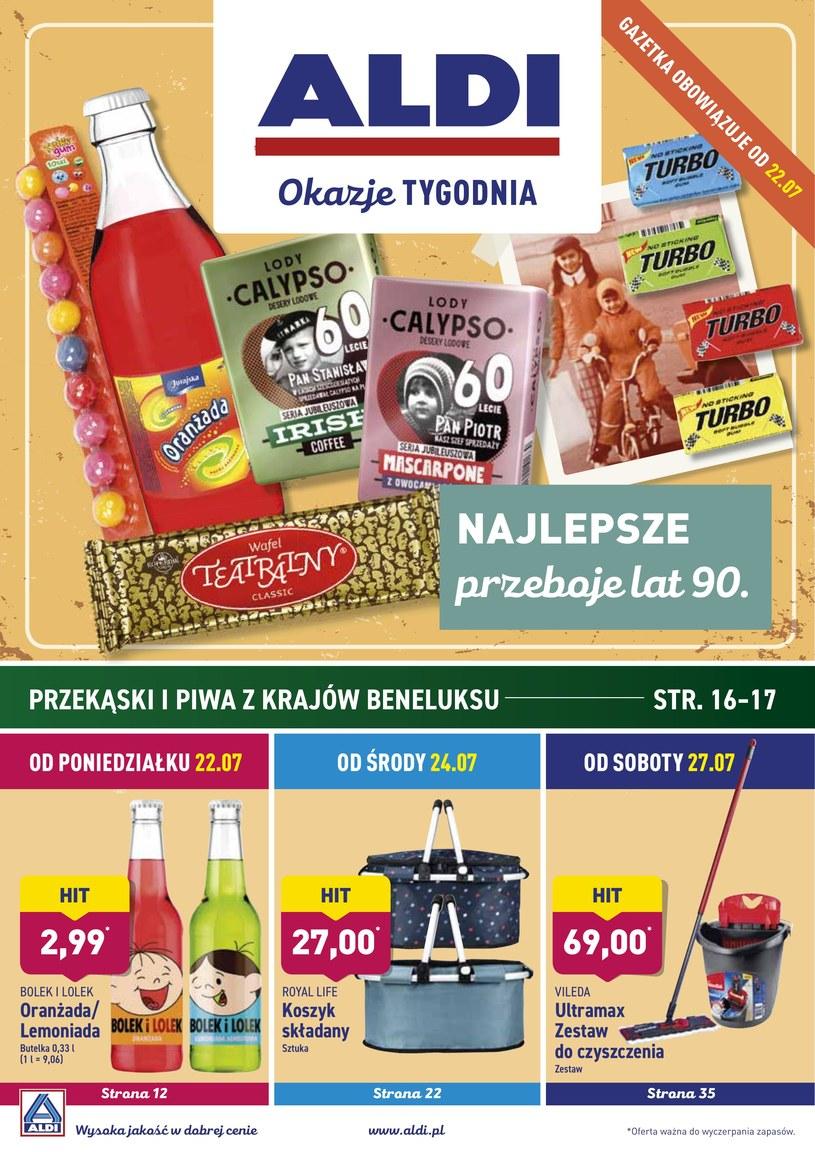 Gazetka promocyjna Aldi - ważna od 22. 07. 2019 do 27. 07. 2019