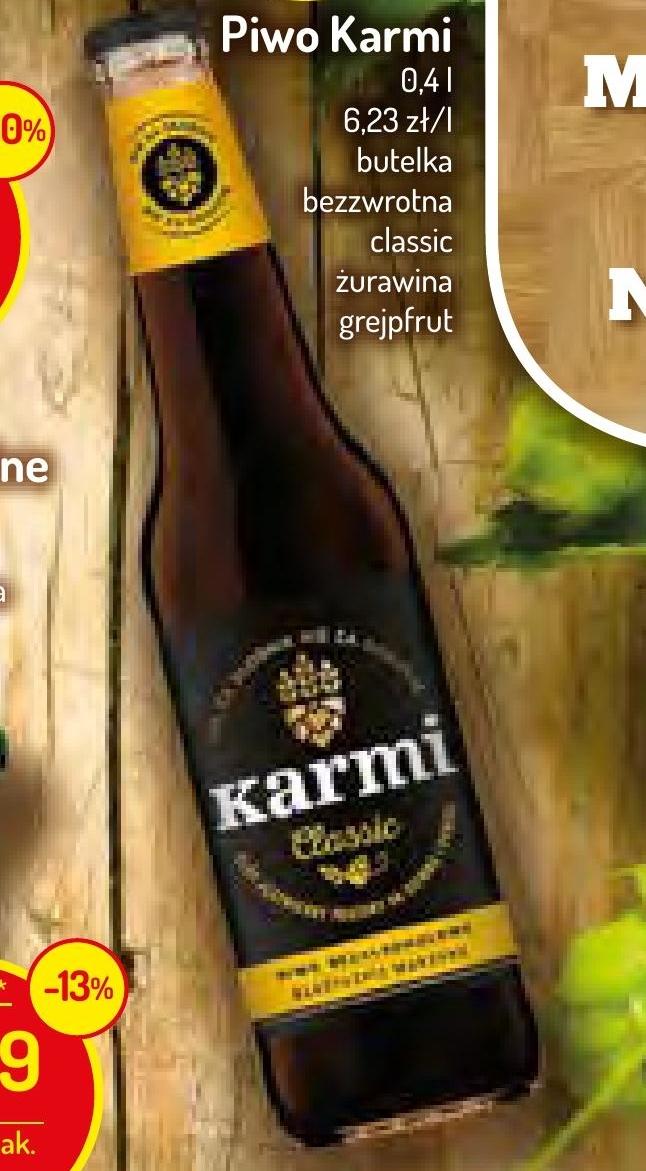Piwo Karmi niska cena