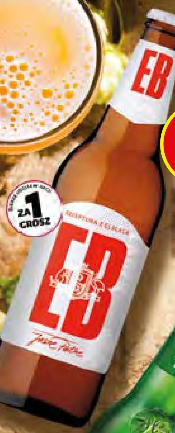 Piwo EB Jasne Pełne niska cena