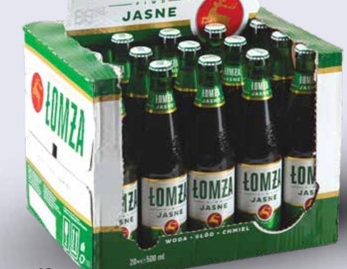Piwo Jasne Łomża  niska cena
