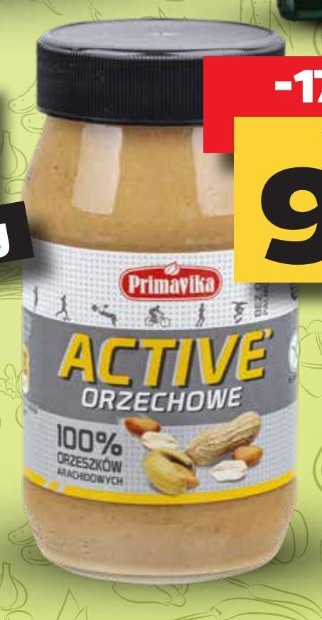 Active orzechowe 100% Primavika niska cena