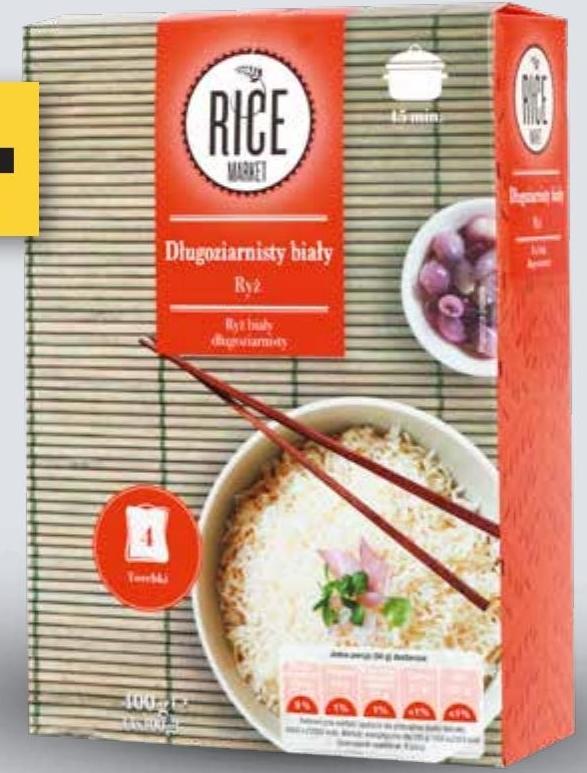 Ryż biały długoziarnisty Rice Market  niska cena