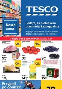 Gazetka promocyjna Tesco, ważna od 18.07.2019 do 24.07.2019.