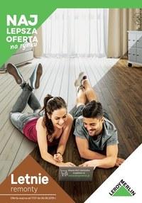 Gazetka promocyjna Leroy Merlin - Letnie remonty  - ważna do 06-08-2019