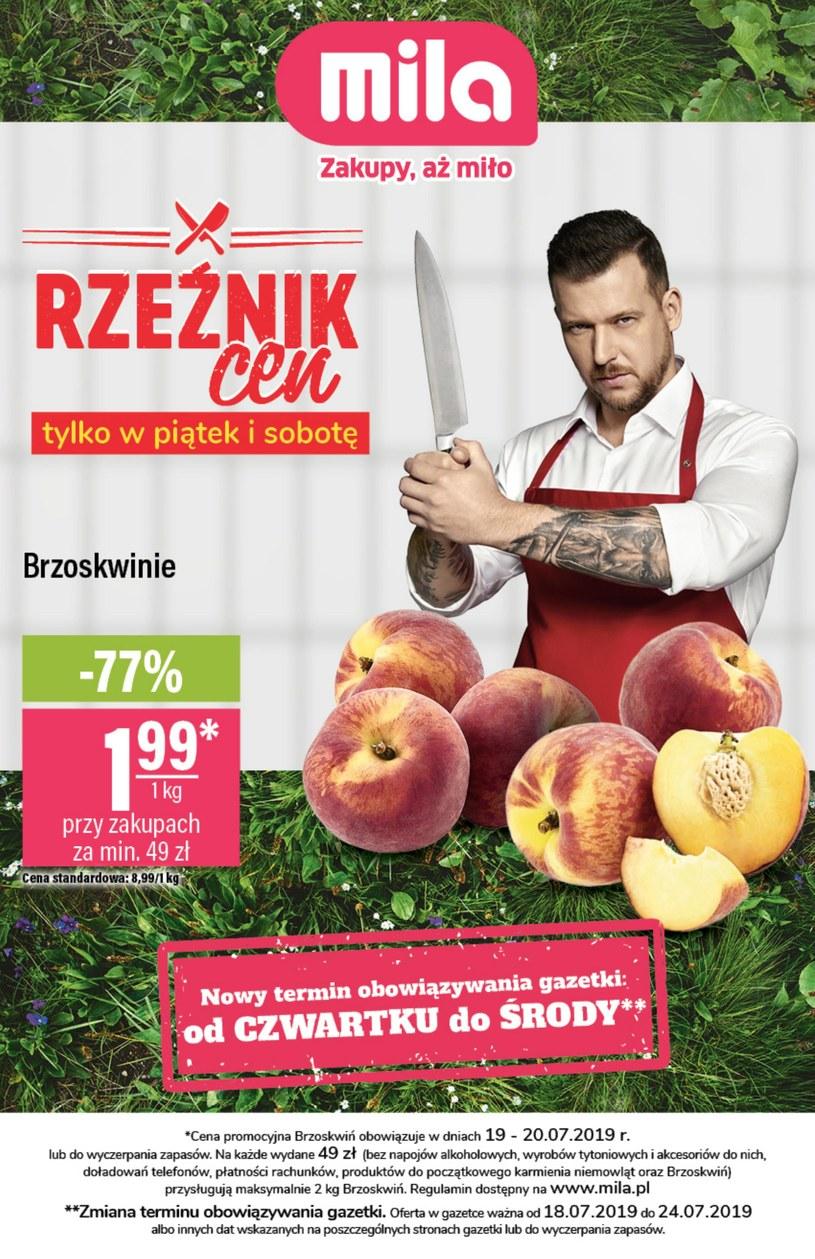 Gazetka promocyjna MILA - ważna od 18. 07. 2019 do 24. 07. 2019
