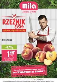 Gazetka promocyjna MILA, ważna od 18.07.2019 do 24.07.2019.