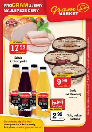 Gazetka promocyjna Gram Market, ważna od 17.07.2019 do 23.07.2019.